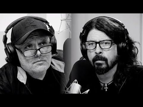 AWKWARD Dave Grohl & Lars Ulrich Interview