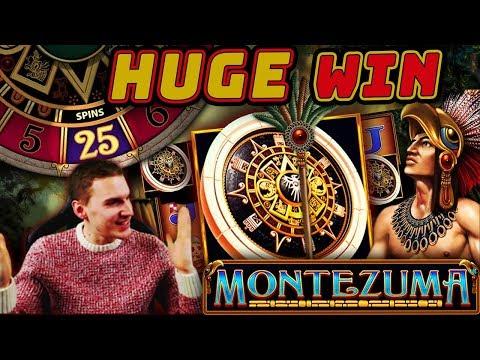 HUGE WIN on Montezuma Slot (FINALLY) - £4.50 Bet