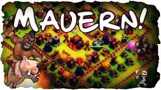 Mauern, Mauern, Mauern! | CLASH OF CLANS #032 | Besuche & Mauern verbessern! (Deutsch / German)