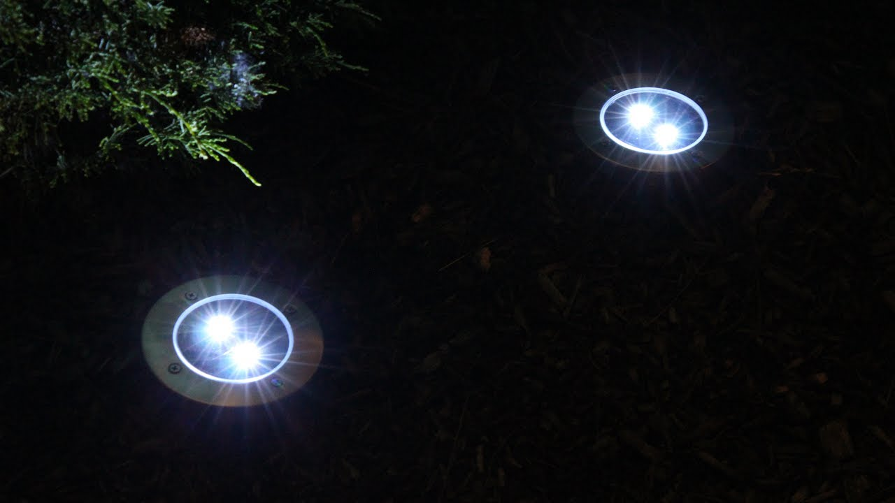 Led Solar Pathway Lights Set Of 4