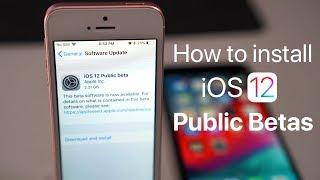 How To Install iOS 12 Public Betas
