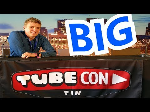 Tubecon 2017 - The Biggest YouTube Event in Finland (VLOG)