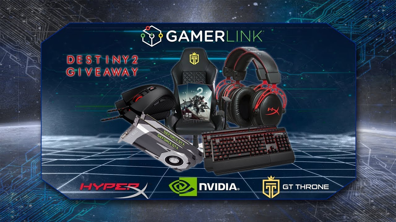 GamerLink Destiny 2 PC Launch Giveaway - YouTube