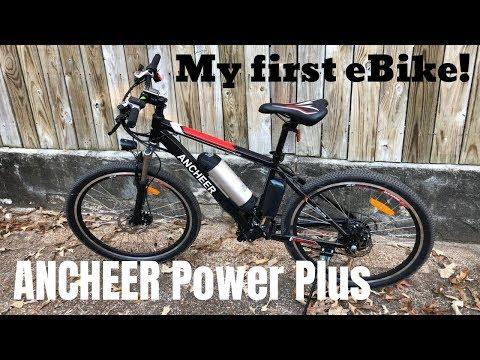 Ancheer Power Plus eBike Electric Mountain Bike sold on Amazon