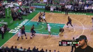CAVS VS CELTICS GAME 1 REACTION - MAy 17 2017