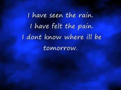 I have seen the rain by pink and her dad, james moore