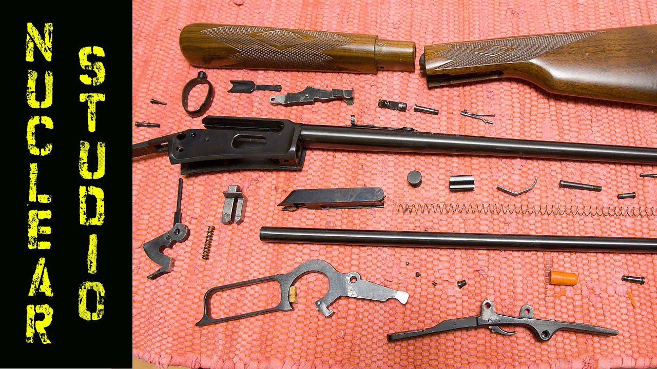 Marlin 1894C / 357 magnum - full disassembly