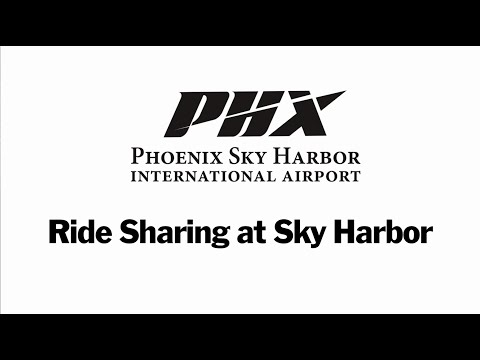 Ride Sharing at Sky Harbor