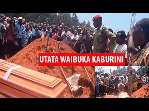 Download UTATA MZITO WAIBUKA KABURINI/WANANCHI WAZUA BALAA/WATAKA POLISI WAMZIKE MAREHEMU