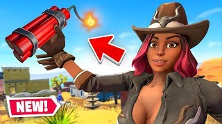 🔴 *NEW * DYNAMITE & WILD WEST Mode in Fortnite Battle Royale #Ad
