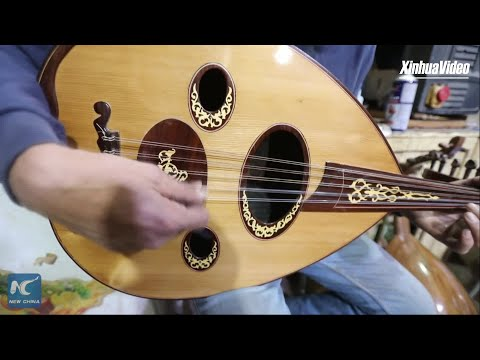 Discover Iraq's traditional lute manufacturing