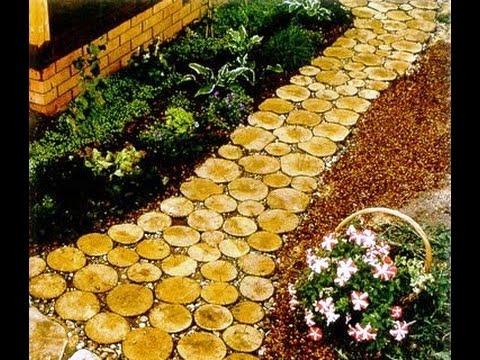 Садовые дорожки своими руками: простые и экономные способы 22
