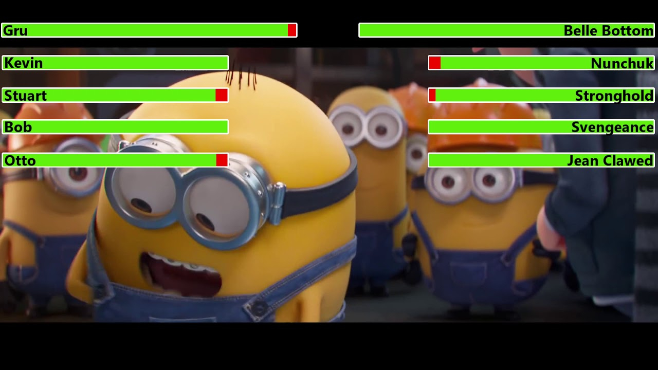Download Minions: The Rise of Gru (2022) Trailer with healthbars (Edited By @Kobe W )