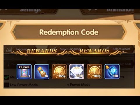 AFK ARENA - Free Rewards from Redemption Codes - Tips Tricks Guides  *Expired*