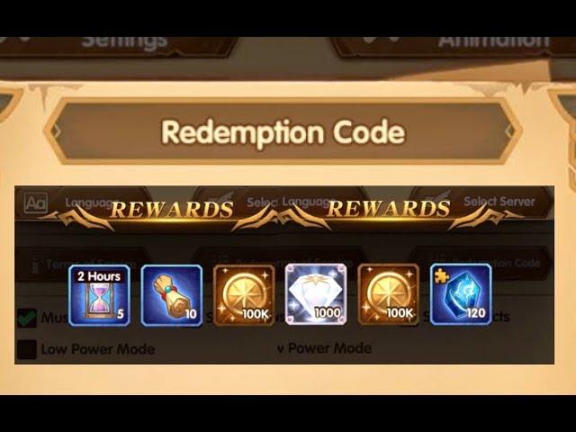 afk arena code