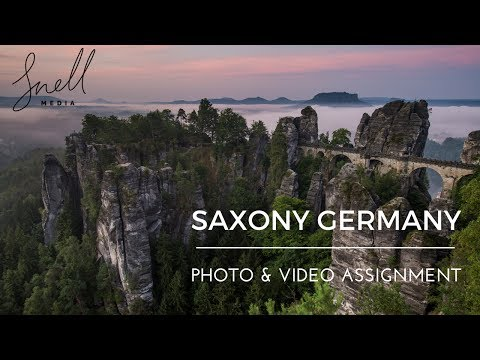 Saxony Tourism  (Germany) TRAVEL Videography & Photography Assignment BTS