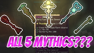 Today we use all the mythics because people like them in builds! Bu...