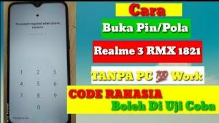 Cara Hard Reset HP Realme C15 Lupa Sandi Lupa Password TANPA PC  Mengatasi lupa pola realme RMX 2180.
