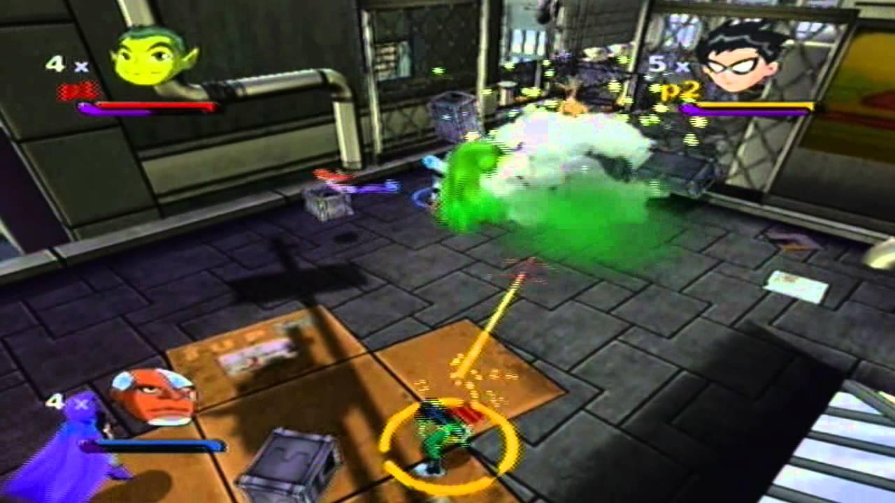 Teen Titans Walkthrough (Gamecube) - Mission 5: Magic ...