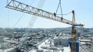 Tower Crane Disassembly (4K)