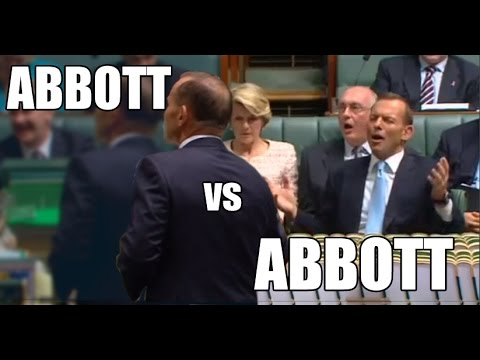 Tony Abbott vs Tony Abbott