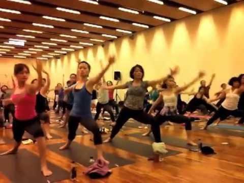 Heeki's Jivamukti WS@2013 Taiwan Yoga Marathon
