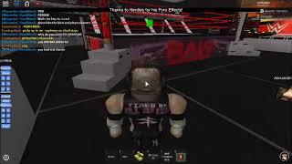 WWE Roblox: Coohayden vs Runnels WWE Title Nhb P5