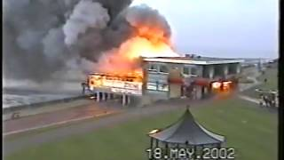 Hunstanton Pier Fire 18 May 2002