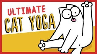 Ultimate Cat Yoga - Simon's Cat | GUIDE TO thumbnail