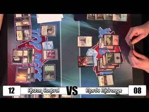 MTG - Standard Gameplay: Abzan Control vs Mardu Midrange