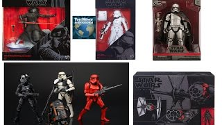 Star Wars The Force Awakens Exclusives & Hasbro Black Series Figure Updates