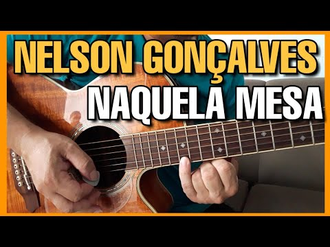 Solos Fáceis De Violão | Naquela Mesa | Nelson Gonçalves | Aulas Completas No Whatsapp:27-997454297