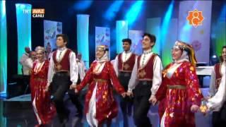 Halay Potpori - TRT Gençlik Halk Oyunları Topluluğu - Yenigün Nevruz 2017 - TRT Avaz