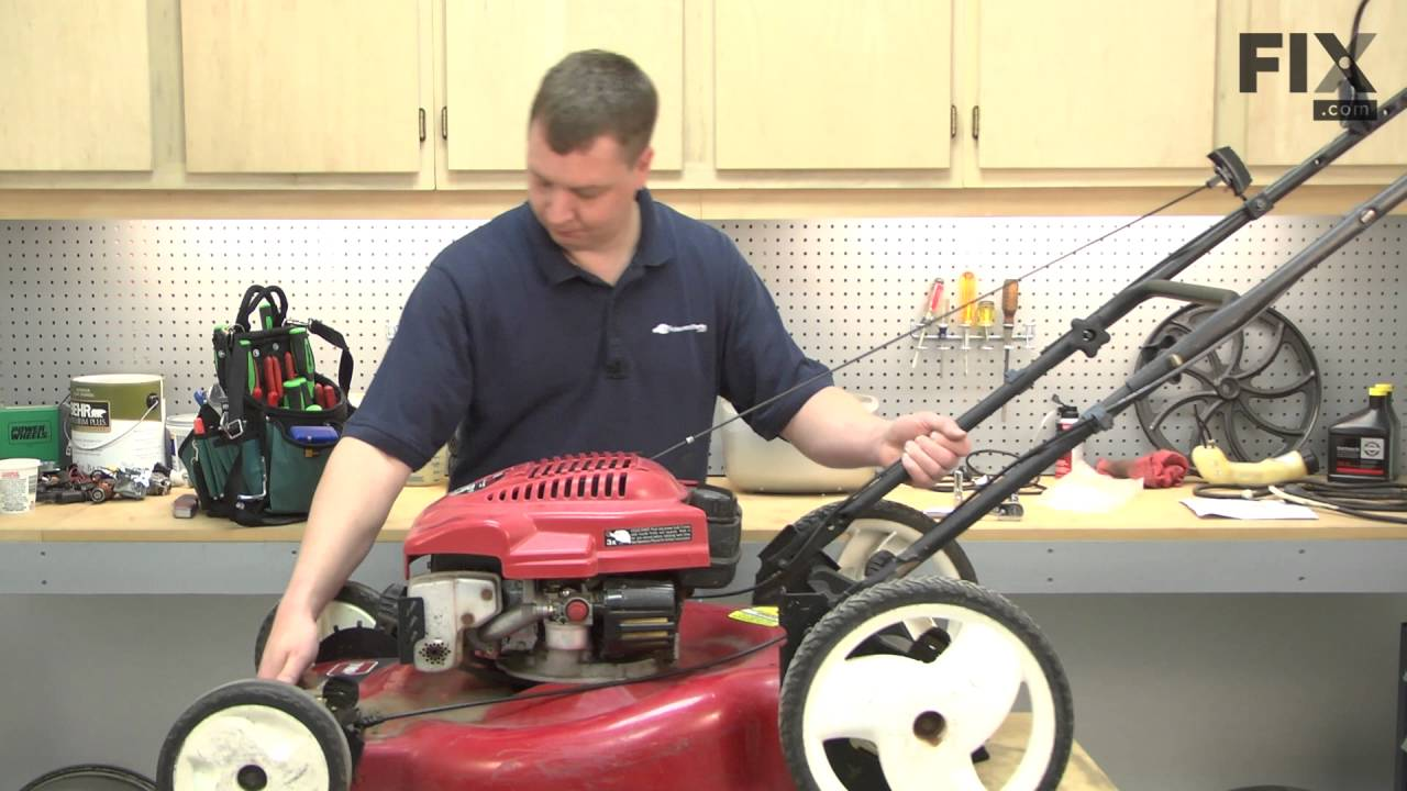 toro lawn mower repair how to replace the drive belt you [ 1280 x 720 Pixel ]