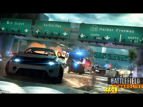 Battlefield Hardline Campanha #5 | Assalto ao Miami Aquatic Stadium (PT/BR/1080p/HD)