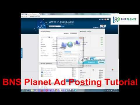 How to post Classified Ads on Backpage Video Tutorial By BNS Planet