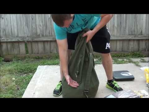 How To Make A Home Made Sand Bag Easy