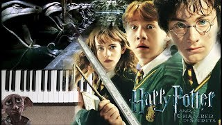 The Chamber of Secrets from Harry Potter and the Chamber of Secrets - Piano Cover