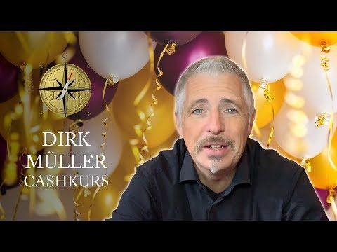Dirk Müller - Cashkurs feiert seinen 10. Geburtstag!