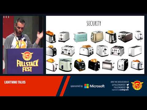 Back-end lightning talks (Full Stack Fest)