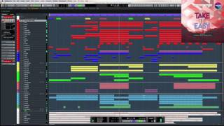 Vocal Template Cubase Pro Take it easy (Edit&Remix)