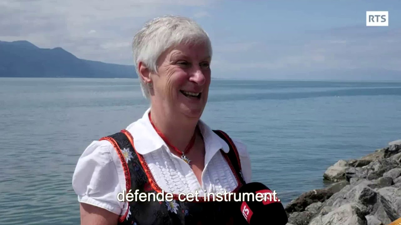 Frances Jones at Fête des Vignerons 2019, Switzerland