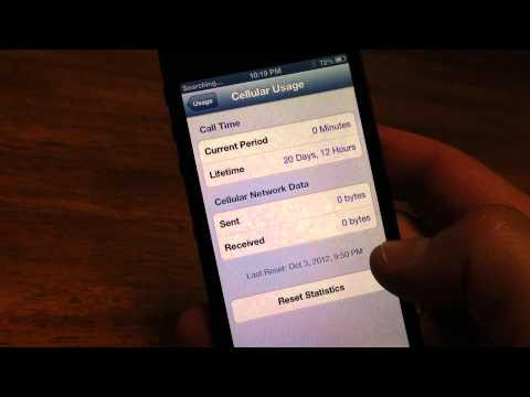 iPhone 5 Verizon excessive data usage