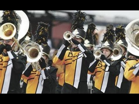"""2016 Bettendorf High School Marching Band """"We are the Bulldogs"""""""