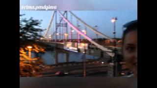 РИМА ПЕНДЖИЕВА  и ПЕШЕХОДНЫЙ МОСТ(ВОТ ТАКАЯ КРАСОТА У НАС ЕСТЬ В КИЕВЕ...Пешеходный мост- через Днепр, который соединяет центральную часть..., 2015-08-11T08:29:08.000Z)