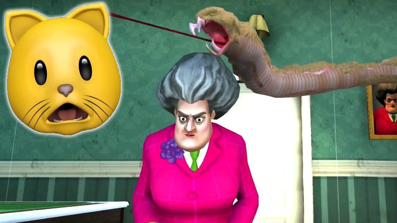Download MISS T GOT A SNAKE?!?! | Scary Teacher 3D