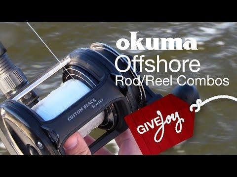 Okuma Custom Black Offshore Combos - West Marine Quick Look