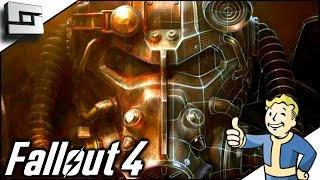 Fallout 4 Gameplay - POWER ARMOR! Ep 3