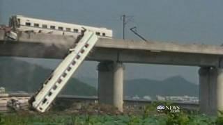 China Bullet Train Crash Cover-Up?