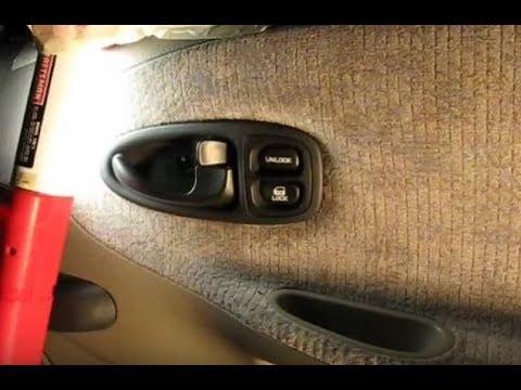 Inside Door Handle Remove & Replace - YouTube